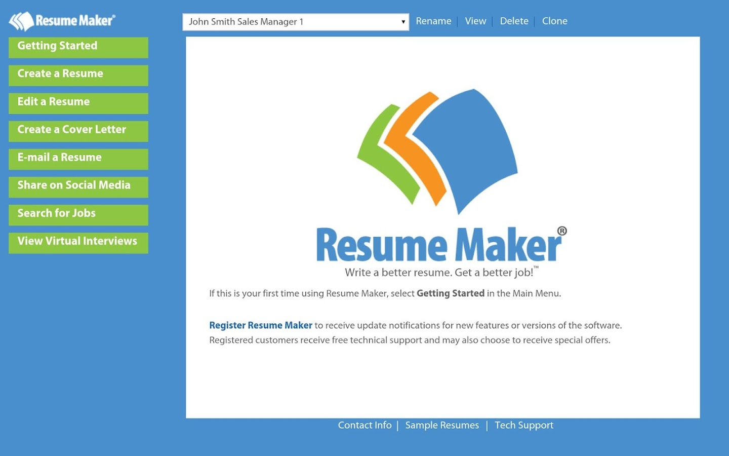 resume maker reg android apps on google play resume makerreg screenshot