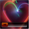 Heart go launcher ex locker icon