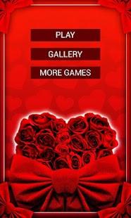 Puzzle na Walentynki - náhled
