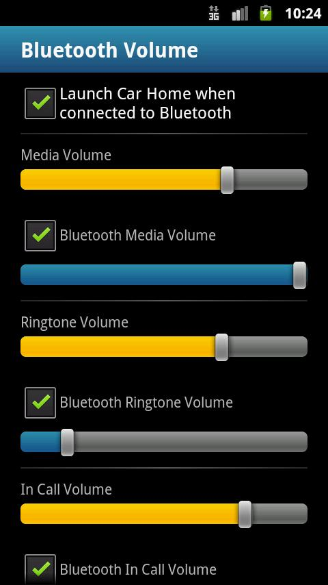 Bluetooth Volume Donate - screenshot