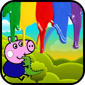 Painting Peppy the Pig
