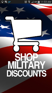Shop Military Discounts screenshot 0