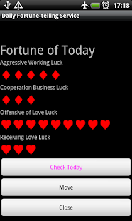 Daily Fortune-telling Service- screenshot thumbnail
