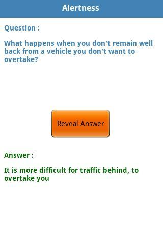 Driving Test  Ireland Lite - screenshot