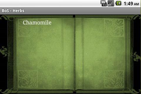 BoS Widget- screenshot