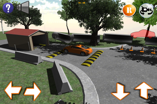 350Z Parking Test Simulator