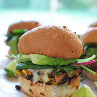 Chipotle Black Bean Burgers.