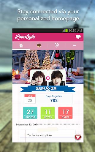 LoveByte - App for Couples