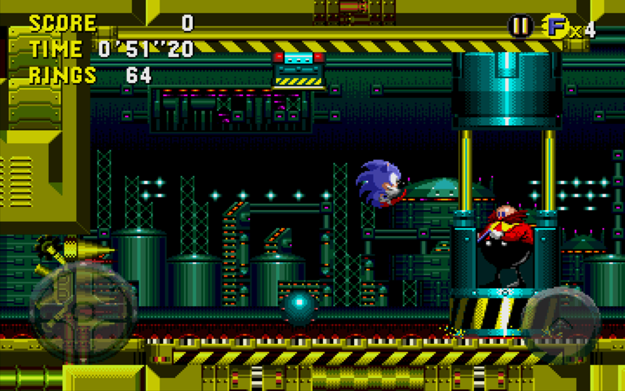 Sonic CD™- screenshot