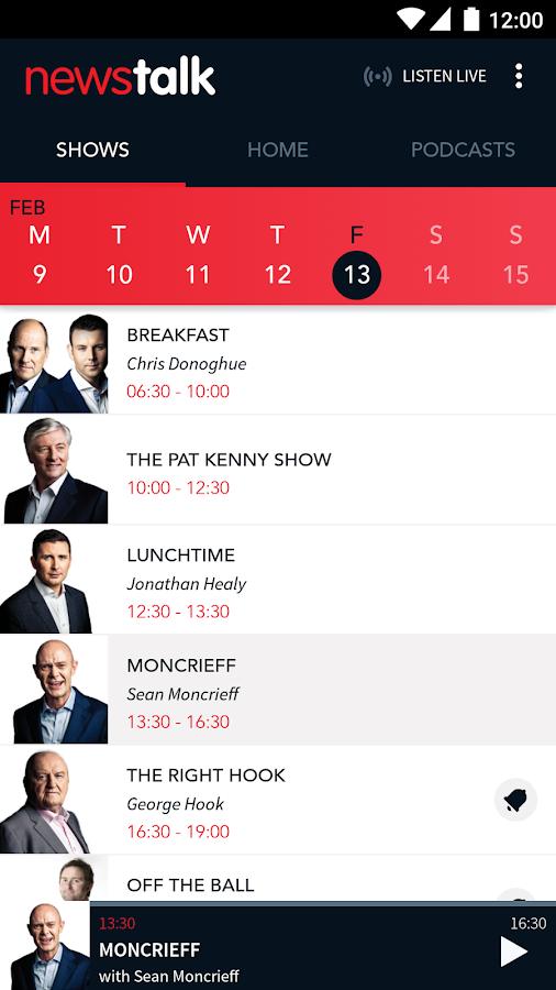 Newstalk 106-108 FM- screenshot