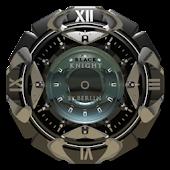 Black Knight Clock Widget