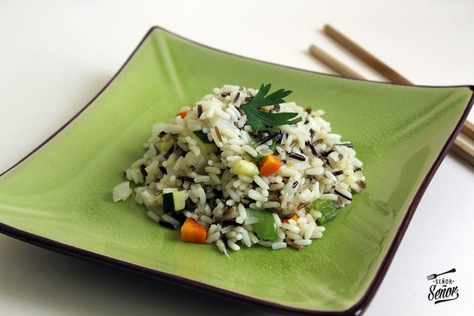 Wild Rice with Zucchini and Carrot Recipe