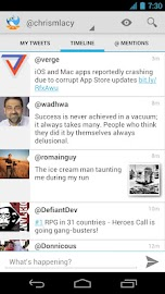 Tweet Lanes Screenshot 1