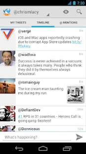 Tweet Lanes- screenshot thumbnail