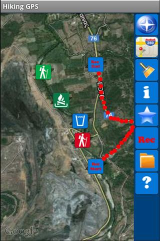 Hiking GPS Lite - screenshot