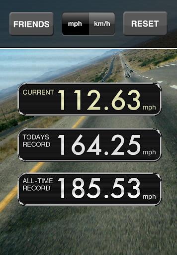 Autobahn GPS Tacho