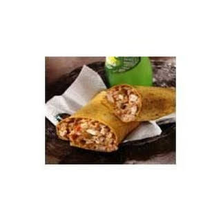 Fiesta Chicken and Rice Wraps.
