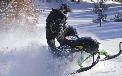Snow Mountain Moto-Racing Moto