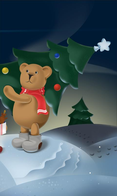 Christmas Bears Free LWP- screenshot