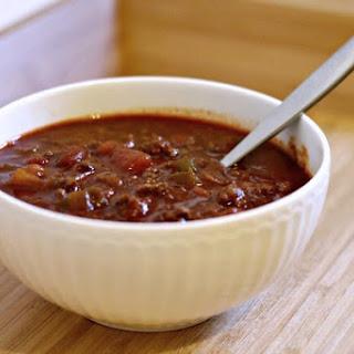 Copycat Wendy's Chili