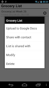 Grocery List Pro - screenshot thumbnail