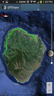 GPShare - GPS Tracking - screenshot thumbnail