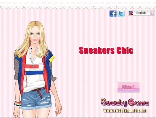Sport Girl Dressup Game