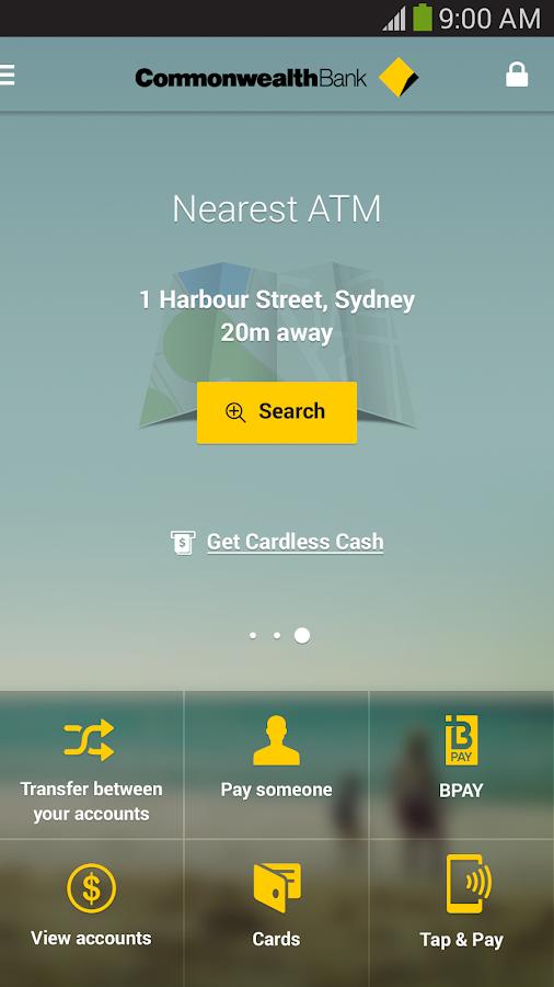 CommBank - screenshot