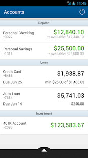 Landmark Credit Union Mobile - screenshot thumbnail