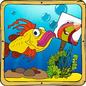Baby coloring apps: the fishes