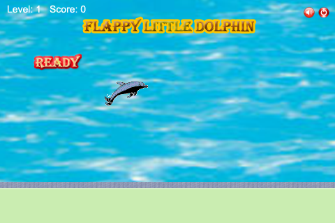Flappy Little Dolphin