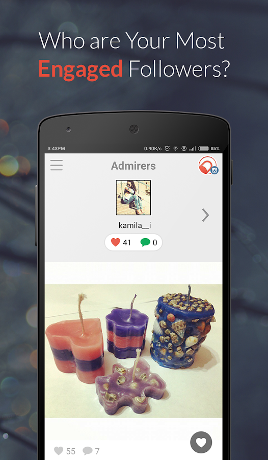 Crowdfire for Instagram - screenshot