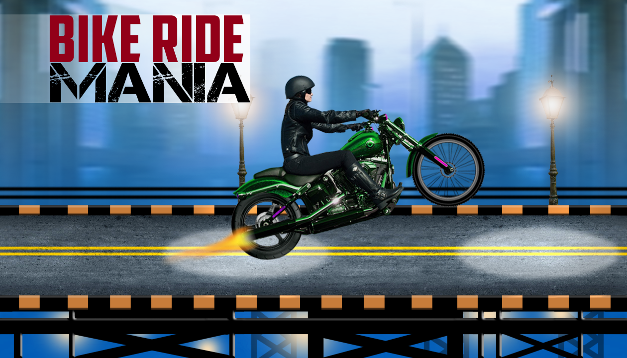 Bike Ride Mania: captura de pantalla