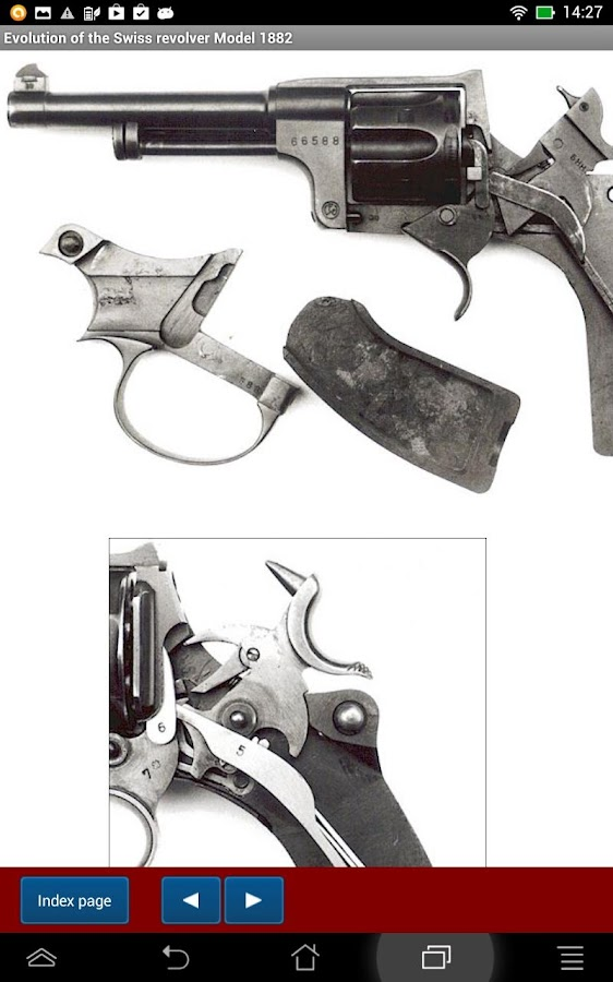 Swiss revolver Model 1882- screenshot