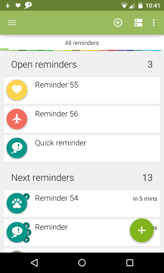 n'4get Reminder - screenshot