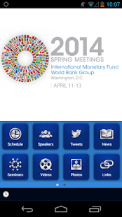 IMF/World Bank Spring Meetings- screenshot thumbnail