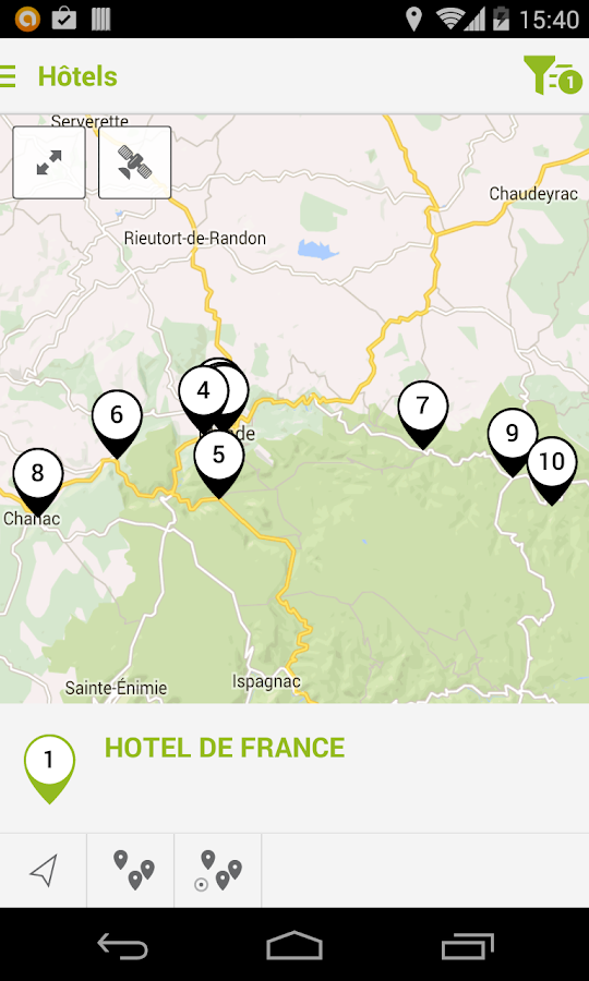 Mende Tour- screenshot