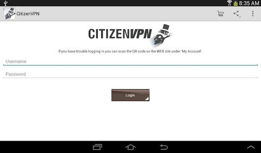 CitizenVPN- screenshot thumbnail