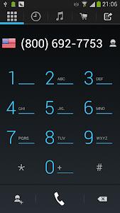WePhone - phone calls vs skype v1.02.08