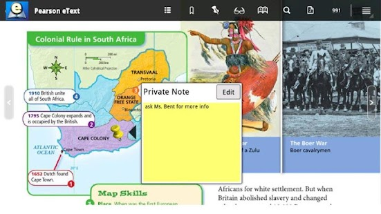 Pearson eText for Android - screenshot thumbnail