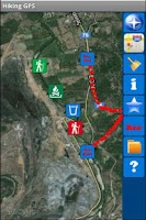 Screenshot of Hiking GPS Lite