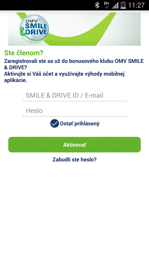 OMV SMILE & DRIVE- screenshot