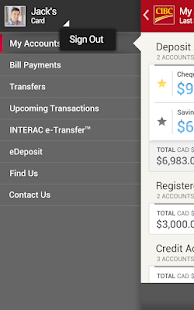 CIBC Mobile Banking® - screenshot thumbnail