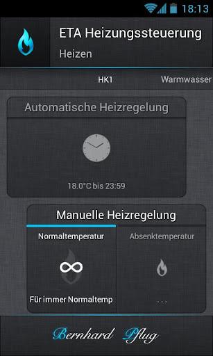 ETA Heating Control