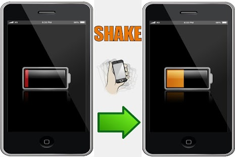 Shake To Charge Battery- screenshot thumbnail