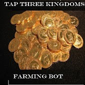 Tap Three Kingdoms Farm Bot