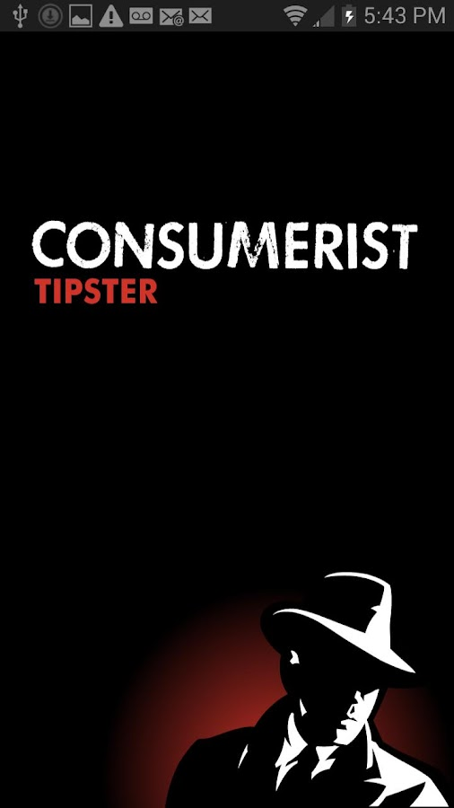 Consumerist Tipster - screenshot