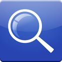Blue Search for Google™ icon