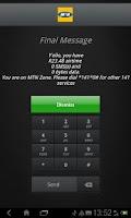 Screenshot of MTNza KeyPad