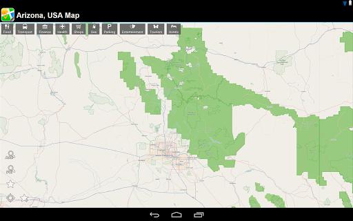 玩旅遊App|美國亞利桑那州 離線地圖免費|APP試玩